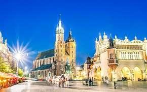 53% Polsko: 3–5 denní pobyt pro DVA se snídaní,…