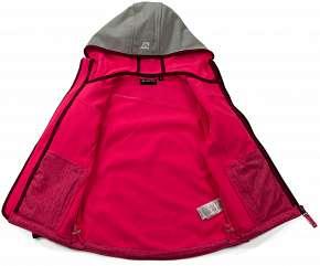 Sleva 46% - Dětská softshellová bunda Alpine Pro Bello z kvalitního funkčního úpletu, velikosti…