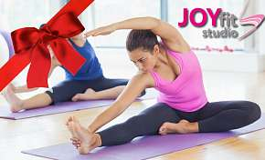 Sleva 33% - 33% sleva na hodinu cvičení Pilates s profi trenérkami Joyfit studia. Darujte k…