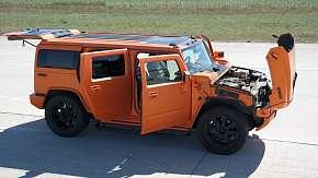 Sleva 70% - Adrenalinový zážitek: jízda v Hummeru H2 GEIGER v délce 20 nebo 40 minut včetně…