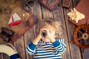 Sleva 49% - Luxusní teleskopický retro dalekohled ze dřeva a také mosazi v dárkové krabičce nebo…
