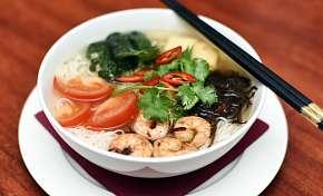 Sleva 19% - Asijské menu pro dva v Chopstix na Praze 1: 3 chody asijských dobrot s možností…