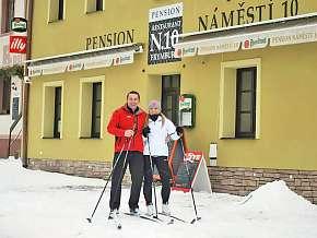34% Lipno: 3 denní pobyt pro DVA v penzionu Frymburk…