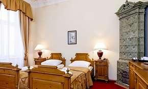 46% Karlovy Vary: 3 denní lázeňský pobyt pro DVA v…