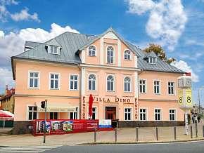 Sleva 58% - Mariánské Lázně: 2 denní wellness pobyt pro DVA v hotelu Villa Dino *** s polopenzí.