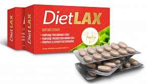 Sleva 50% - Doplněk stravy DietLAX pro zdravé a rychlejší trávení: 108 tablet + jídelníček na 21…