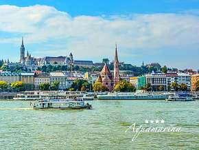36% Maďarsko: 3 denní pobyt pro DVA v Aquamarina Boat…