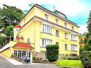 58% Mariánské lázně: 3-4 denní pobyt pro DVA v hotelu…