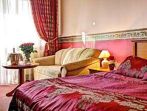 Sleva 51% - Piešťany: 2 denní wellness pobyt pro DVA  v nádherném hotelu Sergio **** s polopenzí.