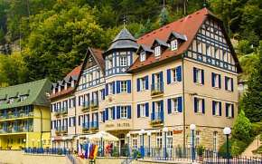 45% České Švýcarsko: 3 denní pobyt pro DVA v Hotelu…