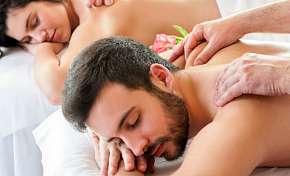 Sleva 69% - 90 nebo 120 minut odpočinku pro dva: masáž, bahenní zábal, infrasauna i rybičková…