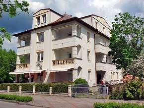 Sleva 31% - Střední Čechy: 3 denní pobyt pro DVA v hotelu Bellevue *** s polopenzí.