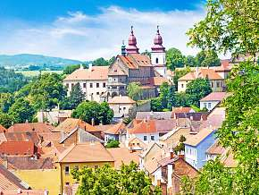 Sleva 26% - Vysočina: 3-5 denní wellness pobyt pro DVA v hotelu Zlatý kříž s polopenzí.