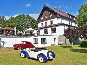 Sleva 21% - Jižní Čechy: 3 denní wellness pobyt pro DVA v hotelu Hrazany s polopenzí.