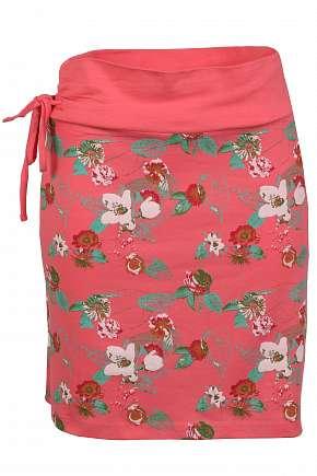 Sleva 63% - Stylová dámská bavlněná sukně Lafita Alpine Pro v atraktivním celopotisku ve…