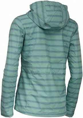 Sleva 55% - Dámská softshellová bunda Alpine Pro Cuba z kvalitního pevného materiálu v zelené…