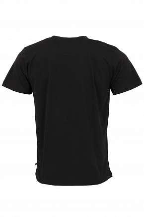 Sleva 67% - Pánské bavlněné triko Alpine Pro Reuben s potiskem v černé barvě ve velikosti S a XL