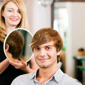 Sleva 50% - Dámský nebo pánský střih v salonu Lenna. Mytí, regenerace, střih, foukaná a finální…