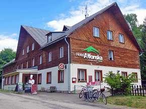 Sleva 38% - Krkonoše: 3 denní pobyt pro DVA v hotelu Alfonska*** s venkovním bazénem.