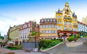 30% Karlovy Vary: 3-4 denní pobyt pro DVA v Hotelu…
