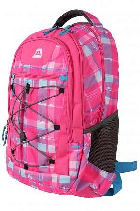 Sleva 55% - Kvalitní dětský batoh Alpine Pro Kalysom v růžové nebo modré barvě z pevného a…