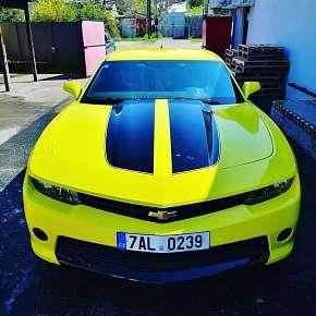 Sleva 10% - Jízda v Chevroletu Camaro Bumblebee: spolujezdec či řidič na 15-60 minut nebo…