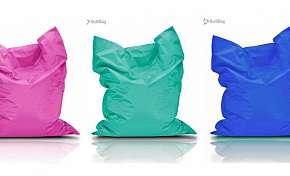 Sleva 73% - Luxusní sedací pytle značky BulliBag - zábavné sezení ve čtyřech velikostech, 15…