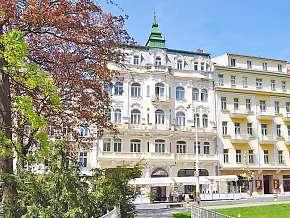 Sleva 34% - Mariánské Lázně: 3 denní pobyt pro DVA v hotelu Polonia *** s plnou penzí.