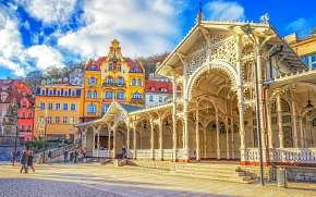 39% Karlovy Vary: 3-5 denní lázeňský pobyt pro DVA v…