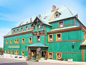 Sleva na pobyt 45% - Krušné hory: 3 denní pobyt pro DVA v hotelu Zelený Dům…