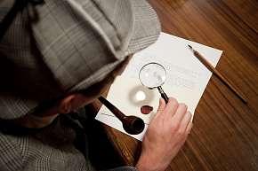 Sleva 33% - Úniková hra Sherlockova kancelář: vyřešte v termínu všechny záhady, zábava pro 2 až…