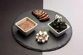 Sleva 27% - Speciální degustační menu: na výběr SAITO a SUPA sushi 46 ks sushi, salát či polévka…