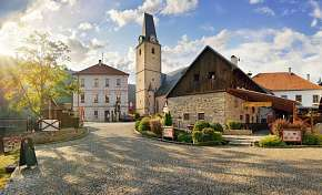 Sleva na pobyt 42% - Jižní Čechy: 3-4 denní pobyt pro DVA v Hotelu U…