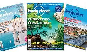 Sleva 26% - Magazín pro nadšence cestování - roční předplatné časopisu Lonely Planet s poštovným…