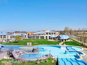 36% Maďarsko: 3 denní lázeňský pobyt pro DVA v hotelu…