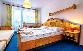 33% Šumava: 3-5 denní pobyt pro DVA v Hotelu Kolibřík…