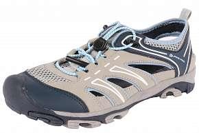 Sleva 53% - Sportovní šedá unisex obuv Alpine Pro vhodná do města i do přírody dostupná ve…