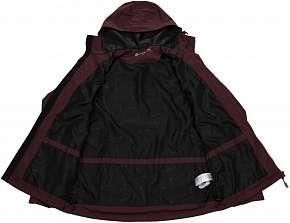 Sleva 50% - Praktická pánská jarní bunda Alpine Pro Precious v krásné vínové barvě ve velikosti S