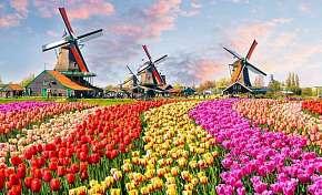 41% Holandsko: 3 denní zájezd do Amsterdamu,…
