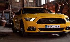 Sleva 31% - Zážitková jízda včetně paliva v nadupaném sportovním voze Ford Mustang GT jako…
