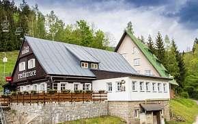 50% Krkonoše: 3-5 denní lyžařský pobyt pro DVA v…