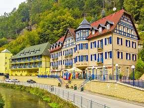 37% České Švýcarsko: 3 denní pobyt pro DVA v hotelu…