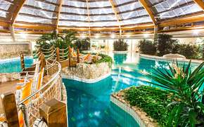 34% Maďarsko: 3-6 denní pobyt v Gotthard Therme Hotel…