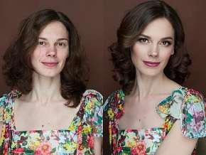 Sleva 73% - Kompletní proměna vizáže včetně nového účesu, make-upu a focení
