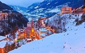 -299% Rakousko: 3-8 denní lyžařský pobyt pro DVA v…