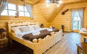 34% Slovensko: 3-4 denní pobyt pro DVA v dřevěném…