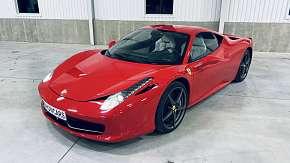 Sleva 71% - Zážitková jízda ve Ferrari 458 Italia