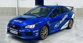 Sleva 64% - 2 nebo 4 kola v Subaru Impreza WRX STI 2018 na moderním Polygonu Brno