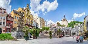38% Karlovy Vary: 3 denní lázeňský pobyt pro DVA v…