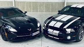 Sleva 70% - Jízda ve sporťáku Ford Mustang GT500 SHELBY a Chevrolet Corvette C7
